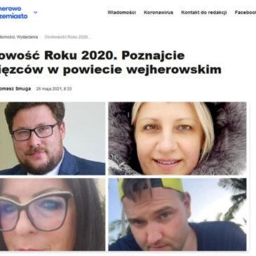 Pani Ewa Świderska-Mądry Osobowością Roku 2020 w kategorii Kultura