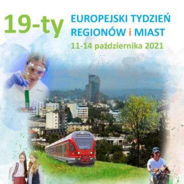 19. Europejski Tydzień Regionów i Miast (#EURegionsWeek)
