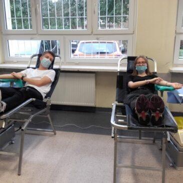 Akcja krwiodawstwa – październik 2021