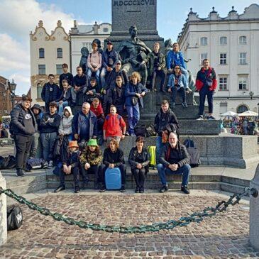 Wycieczka klasy I R/U do Krakowa