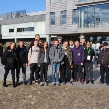 Nasi uczniowie na 15. Międzynarodowych Targach Kolejowych Trako